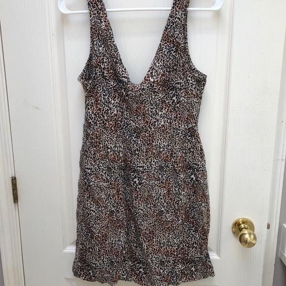 Urban Outfitters Cheetah Print dress